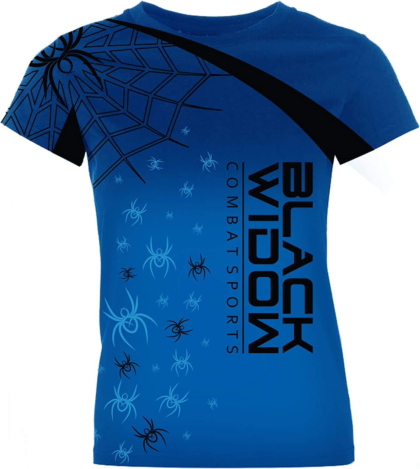 BLACK WIDOW COMBAT SPORTS Women's Spider Takeover Rash Guard