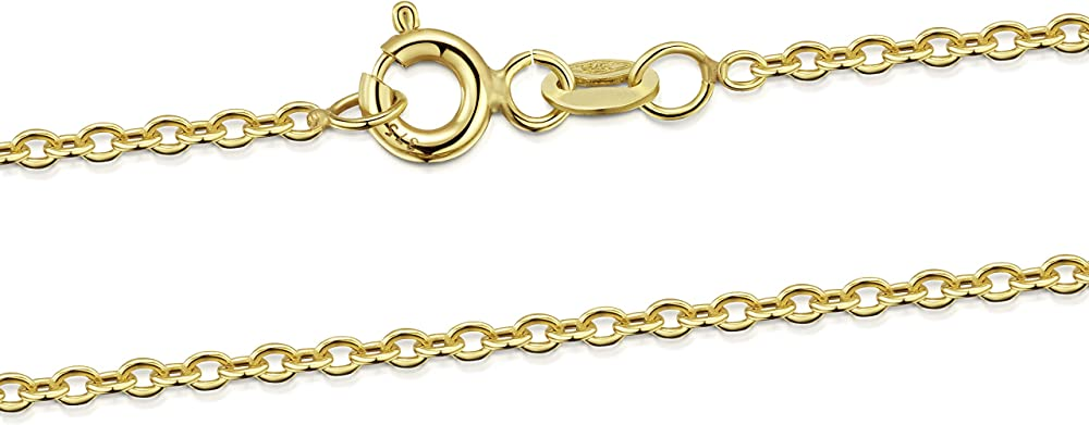 Amberta collana in oro giallo 9kt GL-9K-CHAIN