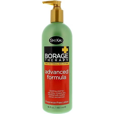 ShiKai Borage Therapy Advanced Formula Lotion, Fragrance Free, 16 Fl Oz