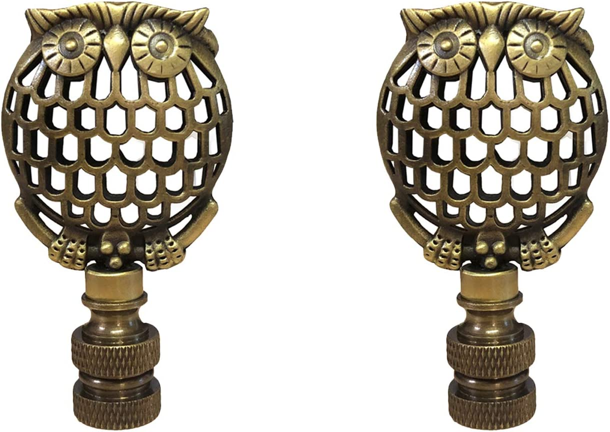 Royal Designs Decorative Las Vegas Mall Wise Owl Direct store Lamp 2 Finial - for Shade