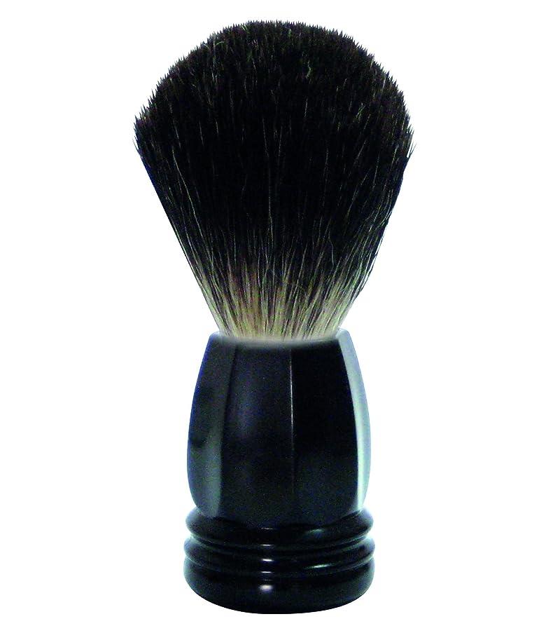 異議ただやるフィードバックGOLDDACHS Shaving Brush, 100% Badger hair, black polymer handle
