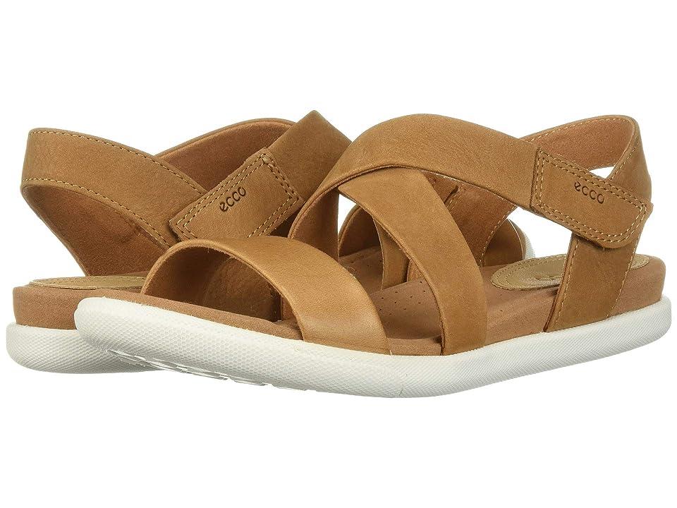 76c739b58d65 ECCO Damara Strap Sandal (Lion Cashmere Cow Leather Cow Nubuck) Women s  Sandals