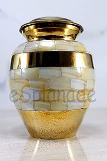 eSplanade Cremation Urn Memorial Container Jar Pot   Ceramic Urns   Brass Urns   Metal Urns   Burial Urns   Memorial Urns
