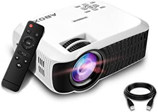 Projector, ABOX T22 480P Portable Video Projector
