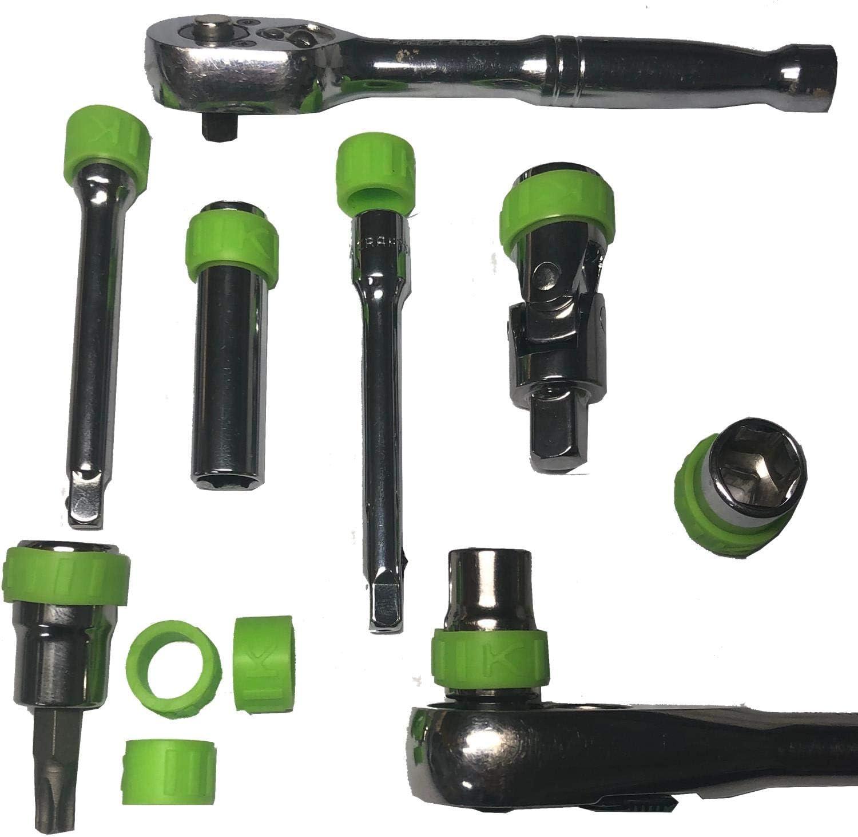 Keyfit Tools Socket Spinner Grips High material Easily Sockets Branded goods Spin Pack 20