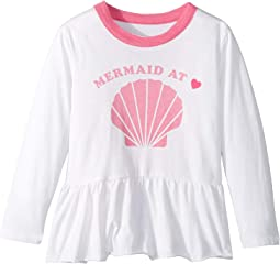Extra Soft Vintage Jersey Mermaid at Heart Tee (Toddler/Little Kids)