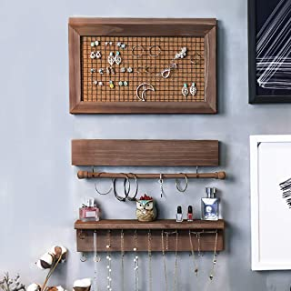wall hanging jewelry display