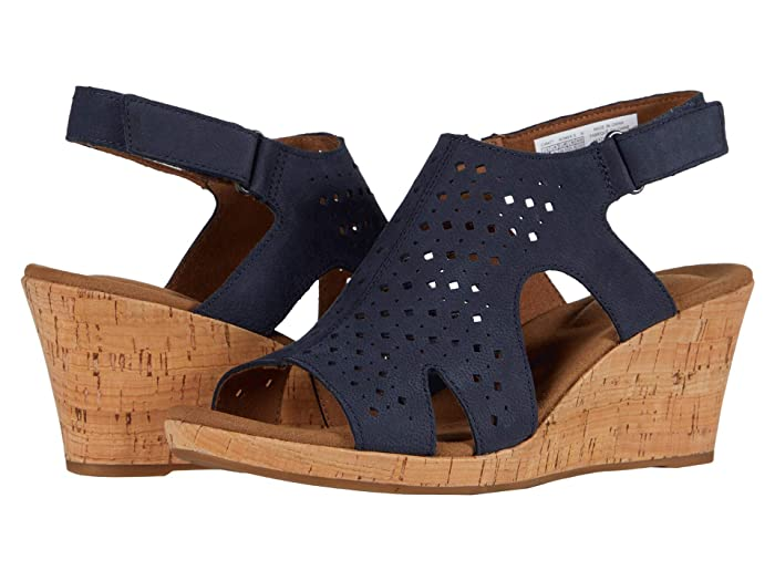 Rockport  Briah Hood Sling (Navy) Womens Sandals