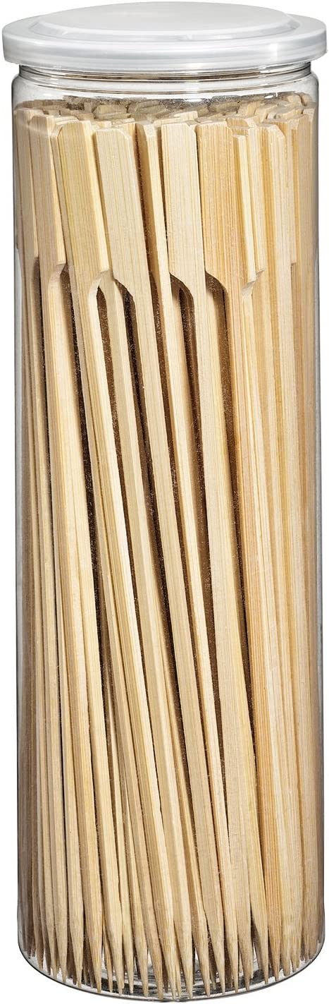 Küchenprofi 1066492523BBQ Outlet sale feature Barbecue Skewers 2 Brown Seasonal Wrap Introduction Bamboo