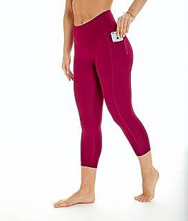 Bally Total Fitness Women`s High Rise Pocket Mid-Calf Legging