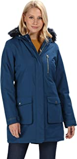 Regatta Serleena Waterproof & Thermo-guard Insulated Faux Fur Hooded Parka Jacket Chaquetas con aislamiento impermeable Mujer
