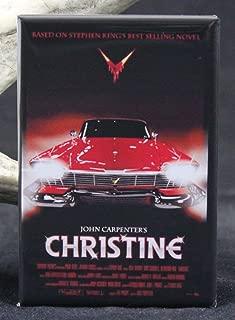 Christine Movie Poster Refrigerator Magnet.