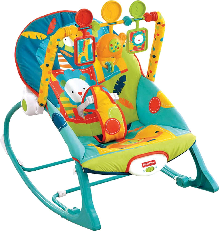 Fisher Price Infant to Toddler Rocker Dark Safari
