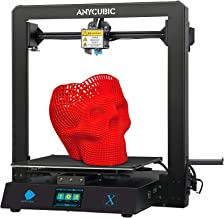 ANYCUBIC MEGA X 3D Printer, Large Metal FDM 3D Printer with Patented Heatbed and 1kg PLA Filament, Build Size 11.81in(L) X...