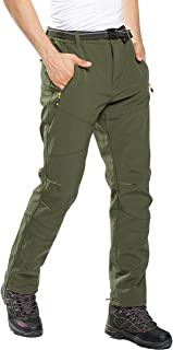 Pantalones de Trekking Hombre Pantalon Softshell de Montaña