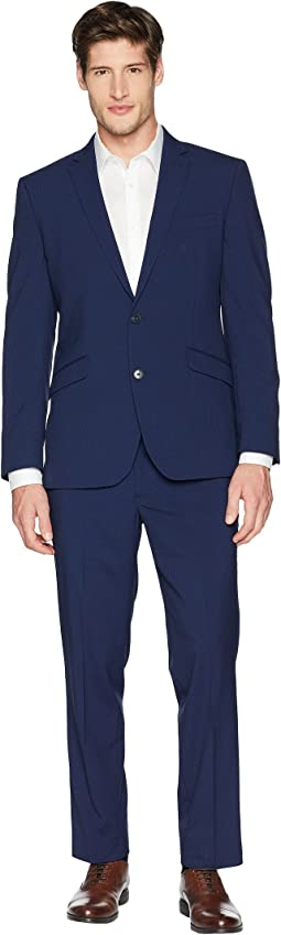 "Stretch Slim Fit Performance 32"" Finished Bottom Suit"