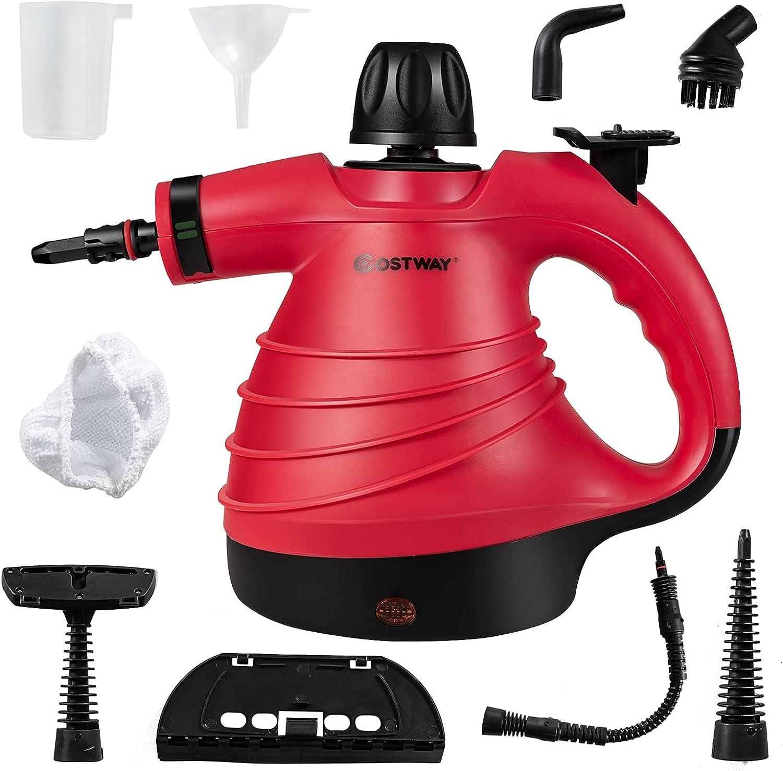 COSTWAY Handheld Steam Cleaner Steamer Philadelphia Mall online shop 1050W Clean Multipurpose