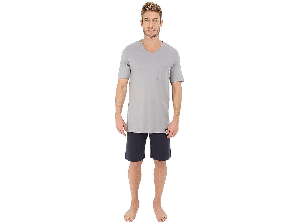 Hanro Night Day Short Pajama Set (Mineral) Men