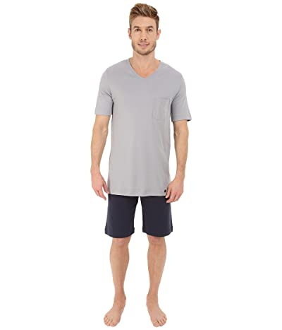 Hanro Night Day Short Pajama Set (Mineral) Men