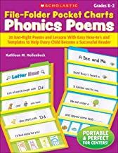 File-Folder Pocket Charts: Phonics Poems: 20 Just-Right Poems and Lessons With Easy How-to s and Templates to Help Every Child Become a Successful Reader
