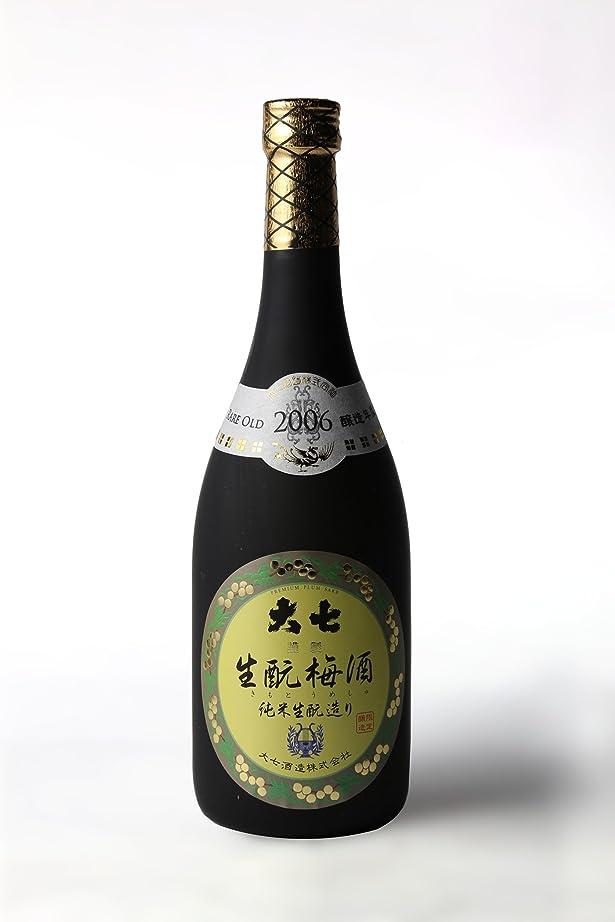 あご追記容器大七酒造(株) 大七 特別限定品 生もと梅酒  720ml.e福島 お届けまで10日ほどかかります