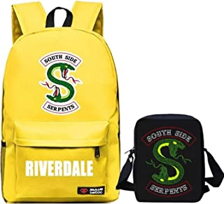 Man Woman Riverdale Laptop Backpack + Lunch box bag for Work Travel Office Outdoor