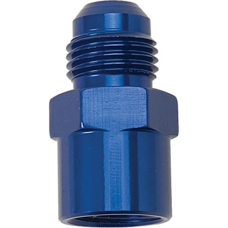Edelbrock 640830 Adapter Fitting M16 X 1.5 Female O-Ring Port #6 An Flare Fits Gm Sending Units