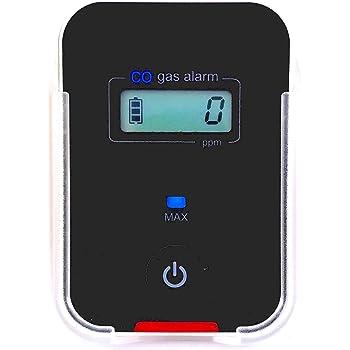 Car, Vehicle, Aircraft Carbon Monoxide CO Detector | Fast Low-Level 9ppm Alarm | Vehicles, Police, Pilots, Travel, Bus, Trucks | Metal Body, Small 2oz |