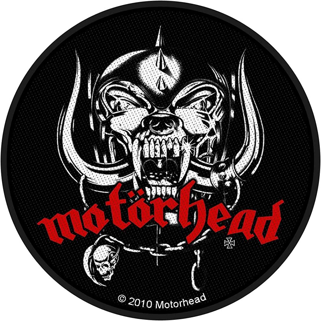 Motorhead OFFicial mail order War Pig Logo Patch Band Heavy Metal Snaggletooth Max 86% OFF Woven