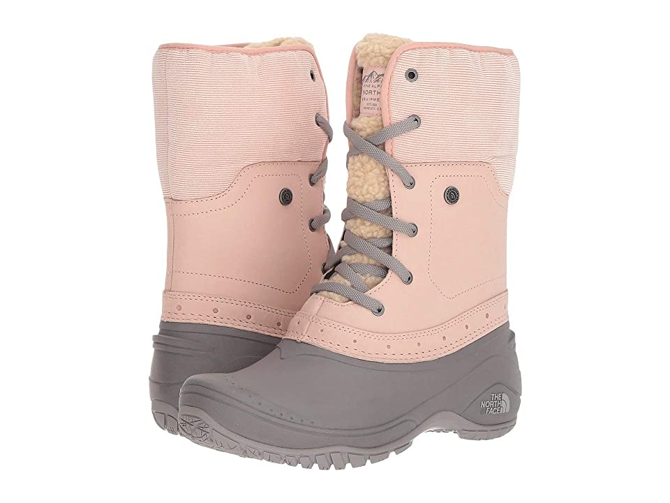 The North Face Shellista Roll-Down Pink (Misty Rose/Q-Silver Grey) Women