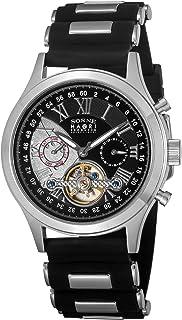 [SONNE]ゾンネ 腕時計 HAORI ブラック文字盤 自動巻 H016SS-BK メンズ