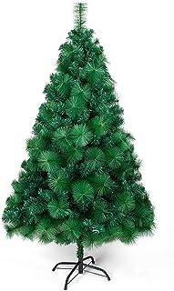 comprar comparacion OZAVO Árbol de Navidad Artificial de Picea(Verde,120cm,300 Ramas),Decoración Navideña,Flocado con Copos de Nieve,Maxi-Rell...