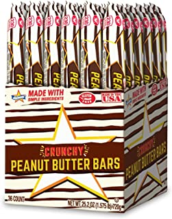 Atkinson's Peanut Butter Stick 0.7 oz, 36 pieces in stand up box