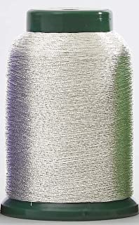 Metallic Embroidery Thread - Silver - 3000 Meters