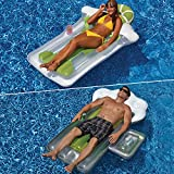 Swimline Beer Mug & Margarita Mattress Combo Pack for Swimming Pools