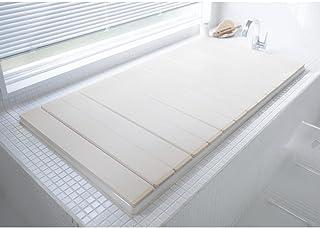 [ベルメゾン] 風呂ふた Ag 抗菌 防カビ 折りたたみ 風呂フタ ホワイト 約70×99cm