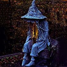 Hell Messenger met lantaarn, de geest op zoek naar licht, Hell Messenger met lantaarn, creatieve realistische hars Ghost-s...
