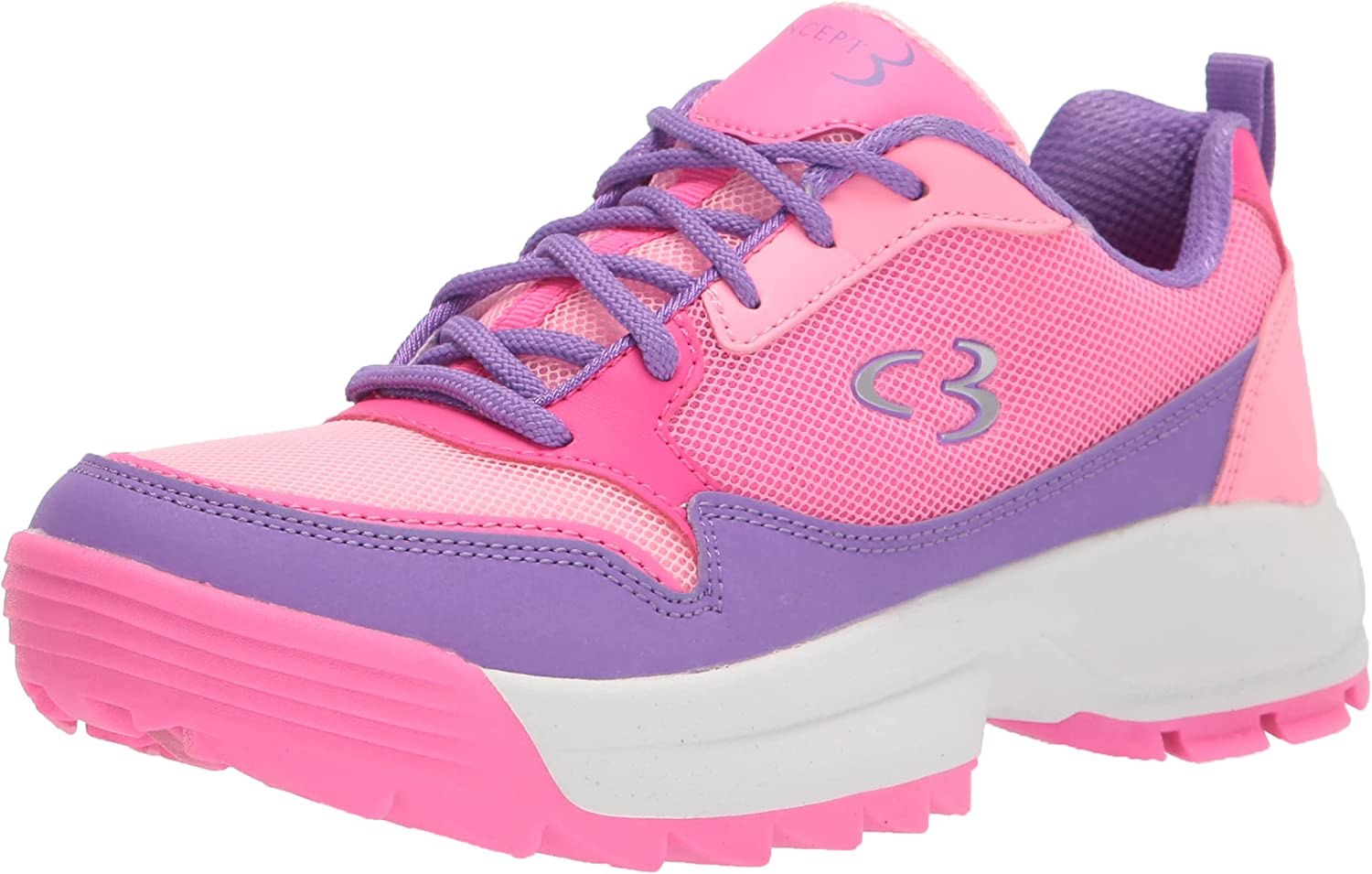 Ranking TOP10 Max 41% OFF Concept 3 by Skechers Sneaker Unisex-Child Lace-up On-it