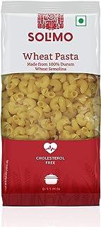 Amazon Brand - Solimo Durum Wheat Elbow Pasta, 500g