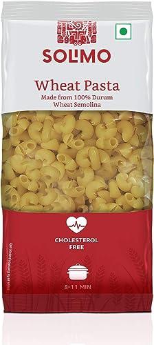 Amazon Brand Solimo Durum Wheat Elbow Pasta 500g