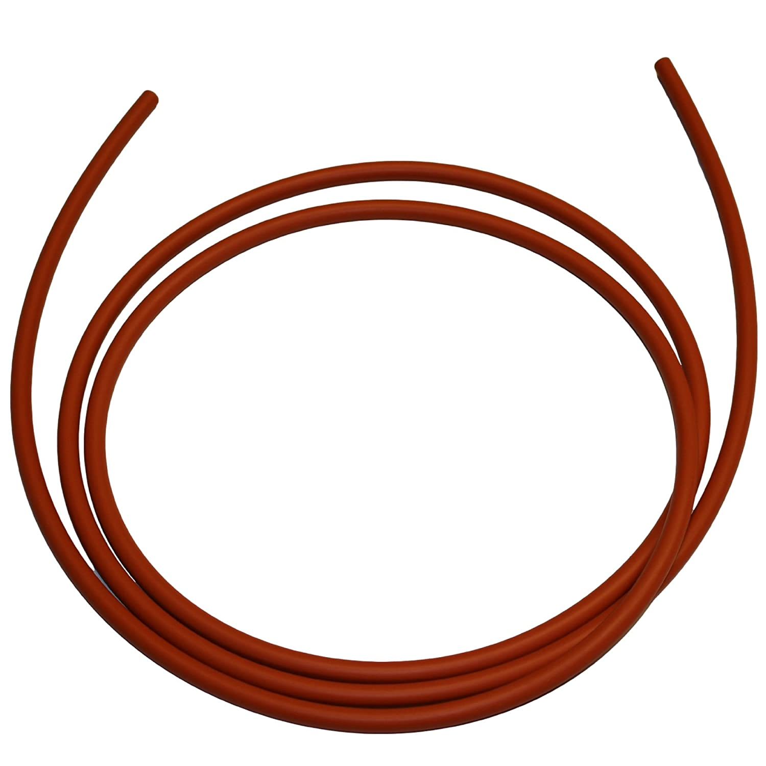 Black 0.250 Thickness .250 Buna-N O-Ring Cord Stock 70A Durometer 1//4 Actual 10 Piece