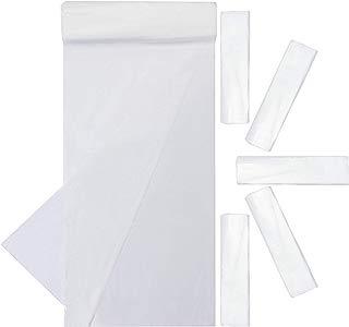 Juvale 20-Pack Plastic Paint Drop Cloth Sheets, 9 x 12 Feet