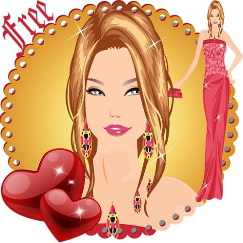 Dress Up Girl Valentine's Day