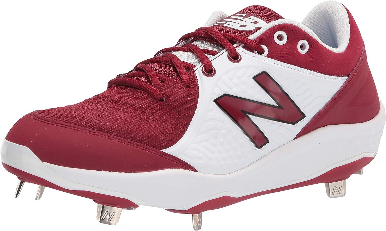 New Balance Max 84% OFF Men's Fresh Foam Factory outlet V5 Metal 3000 Shoe Baseball