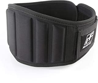 RitFit Super Supportive Weightlifting Belt for Men and Women,Super Firm & Comfortable Lumbar Support with Back Injury Protection, Great for Squats, Crossfit, Lunges, Deadlift, Thrusters
