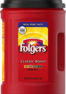 Best folgers classic roast ground coffee 51 oz Reviews