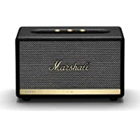 Marshall Acton II Wireless Wi-Fi Multi-Room Smart Speaker with Amazon Alexa Built-in (Black)