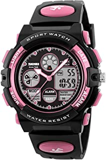 Kids Digital Sport Watch, Boys Girls Waterproof Sports Outdoor Watches Children Casual..