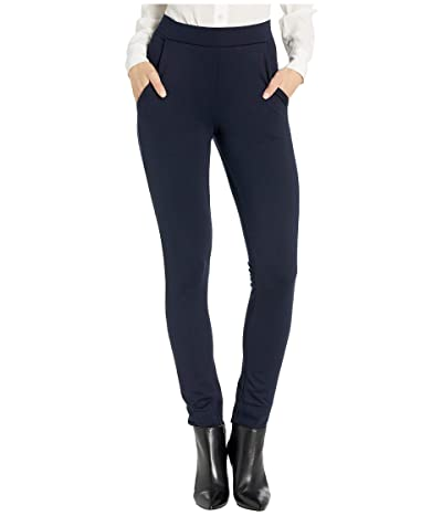 HUE Ponte 7/8 Leggings (Navy) Women