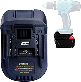 Sponsored Ad – STTG DM18MA Converter Adapter Compatible with Makita 18V 20V Li-Ion Battery, Adapter Compatible with Dewalt...